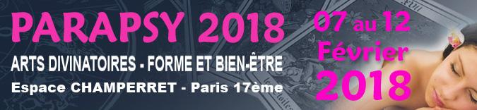 Salon parapsy paris 2018 artes divinatoires 7 12 fevrier 2018 for Salon voyance paris